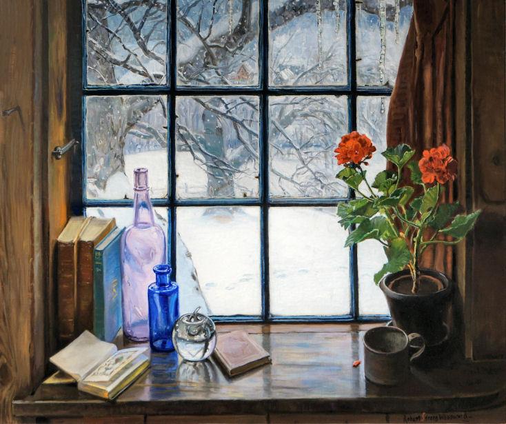 Rsw Artwork Page Quot My Winter Window Shelf Quot