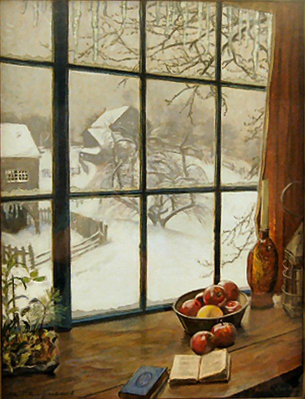 Featured Artwork North Window (chalk) & RSW- Artwork page \
