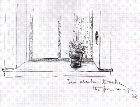 3a4c5511d3dc5 1910 Woodward sketch of a Window